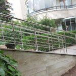 Paslanmaz Çelik Engelli Korkuluğu (6)