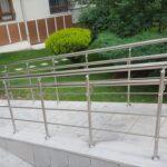 Paslanmaz Çelik Engelli Korkuluğu (9)