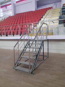 Paslanmaz Çelik Merdiven Korkuluğu (1)