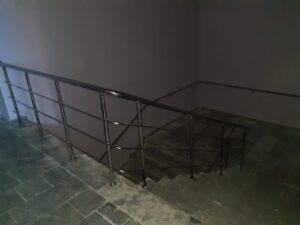 Paslanmaz Çelik Merdiven Korkuluğu (15)